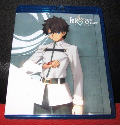 BD/藍光影片 卡通動畫 -Fate/Grand Order ‐First Order‐ 繁體字幕