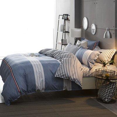【RS Home】雙人標準5呎床包被套枕套沙發套沙發罩保潔墊掛畫民宿裝飾矮凳床墊彈簧床獨立筒記憶枕床包四件組