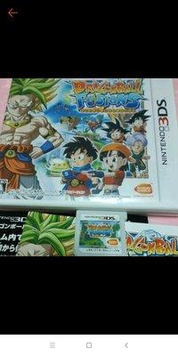 請先詢問庫存量~ 3DS 七龍珠 融合 NEW 2DS 3DS LL N3DS LL 日規主機專用