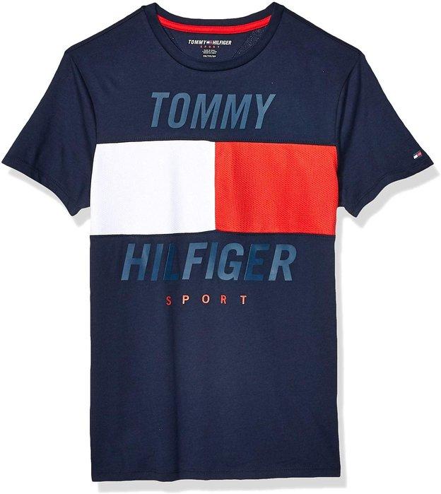 T☆【TOMMY館】☆【TOMMY HILFIGER拼接短袖T恤】☆【TOM001E5】(S-M-L)原價1499 12/2到貨