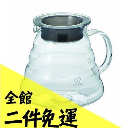 空運 日本 HARIO V60系列 雲朵壺 600ml 透明 咖啡壺 耐熱 玻璃壺  XGS-60TB 【水貨碼頭】