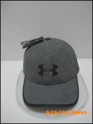 【喬治城】 Under Armour 男款UA Flash 1 Panel運動帽 老帽(深灰)1305014-001