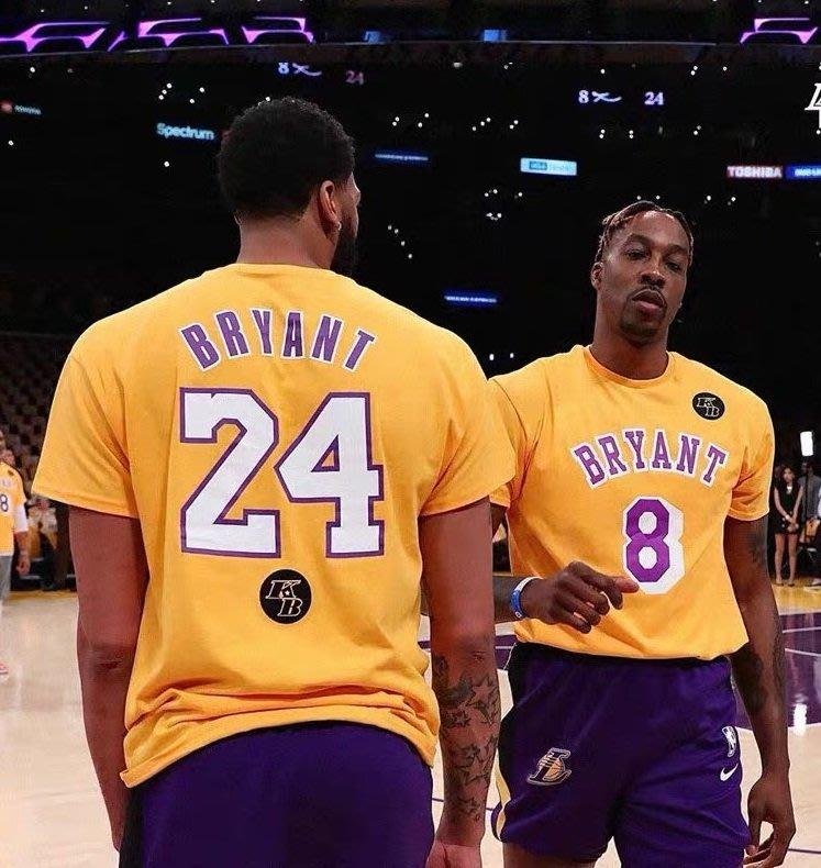 🎀黑曼巴Kobe Bryant科比短袖棉T恤上衣🎀NBA湖人隊Nike耐克愛迪達運動籃球衣服T-shirt男女990