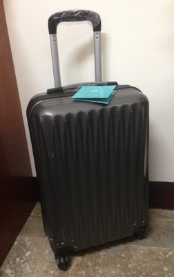 全新~ROWANA 20吋登機箱 行李箱 拉桿箱~深灰