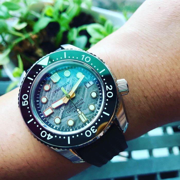6️⃣六樓先生6️⃣ SEIKO PROSPEX meteorite dial 大MM同款 限量隕石面盤 機械錶 潛水錶 運動錶