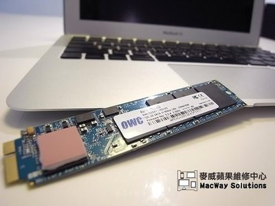 [台中 麥威蘋果] MacBook Air維修 固態硬碟SSD 泡水搶救/主機板電路維修 上蓋/液晶/鍵盤/觸控