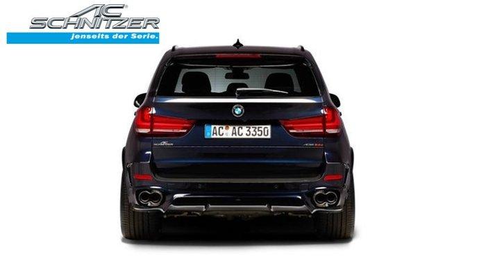 【樂駒】AC Schnitzer BMW X6 F16 xDrive 40d 40i M50d 四出 黑色 尾段 排氣管