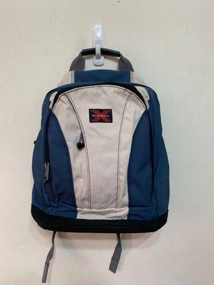 「 二手包 」 SUMDEX 後背包(藍)24