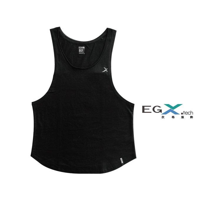 EGXtech衣格 HC-1V 健身背心 黑 男款 背心 運動 休閒 健身