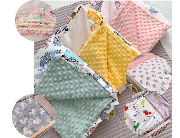 歐美極柔軟小尺寸嬰兒毯 嬰兒蓋毯 親子被 空調被  寶寶安撫毯 嬰兒被 兒童被 安撫被 午睡被
