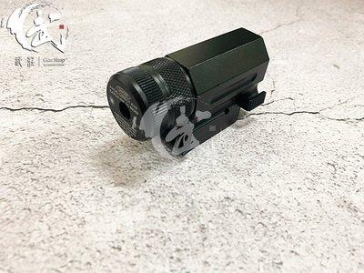 (武莊)現貨 下掛瞄準鏡 戰術綠雷射 瞄準器-JA01501