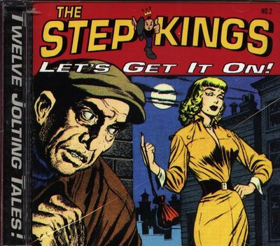 K - THE STEP KINGS - LET'S GET IN ON!  - 日版 CD+1BONUS
