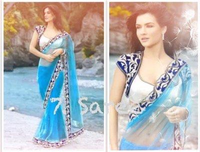 7. 湖畔精靈款 Muse Elf Saree 寶萊塢明星風格莎麗 印度舞衣紗麗 Sari
