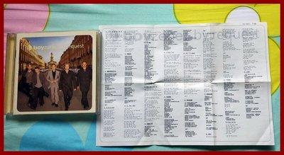 ◎2000年-男孩特區-最愛精選18首-Boyzone-by request-精選等18首好歌-Words◎CD西洋流行