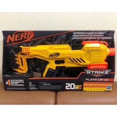 電動槍 Nerf Alpha Strike Flyte CS-10 Motorized 10-Dart Blaster