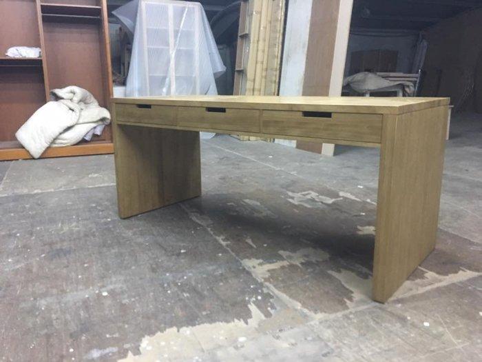 【順發傢俱】全實木電腦桌,客製物品,