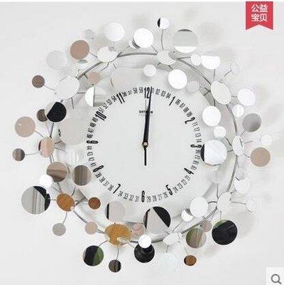 settler卓爾時尚裝飾掛鐘鐵藝創意造型鐘錶滿天星藝術掛鐘風格鐘
