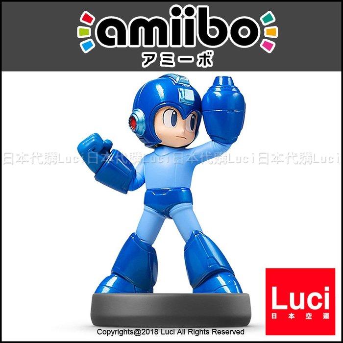 洛克人 預購 amiibo 大亂鬥系列 ROCKMAN 3DS 召喚 任天堂 LUCI日本代購