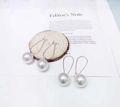 韓國新款大珠耳環