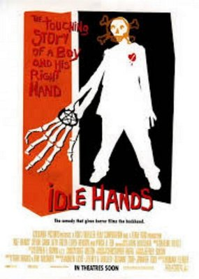 魔掌-Idle Hands (1999)原版電影海報