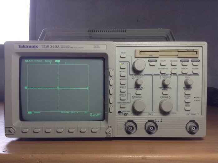 Tektronix 太克 TDS 340A 示波器 歡迎議價 示03
