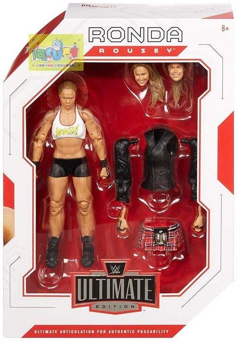 ☆阿Su倉庫☆WWE Ronda Rousey Ultimate Elite UFC格鬥女王終極精華版人偶附配件 熱賣中