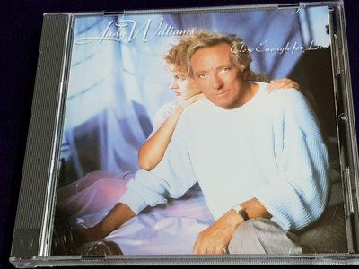 R西洋男(二手CD)ANDY WILLIAMS CLOSE ENOUGH FOR LOVE無ifpi~