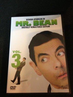 (全新絕版品)環球發行 Mr.Bean 豆豆先生影集 DVD vol.3(洲立公司貨)