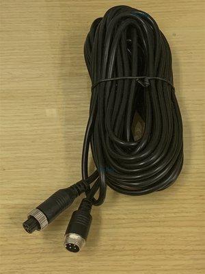 ☆ 行車記錄器配件專區 ☆ 大貨車 4路行車記錄器鏡頭專用線 AHD 4pin/20米 航空頭 4鏡頭行車記錄器專用線