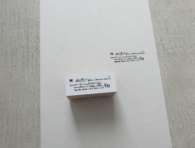 【莫莫日貨】Yohaku 原創系列 日本製 日本進口 木製橡皮印章 橡皮章 - 回憶 S015