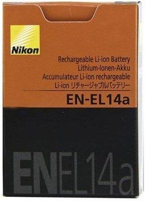 【柯達行】Nikon EN-EL14a 原廠電池 盒裝 適用 D5500 D5600 P7700 P7800 免運費