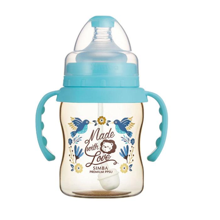 ☘ 板橋統一婦幼百貨 ☘  小獅王辛巴 桃樂絲PPSU自動把手寬口葫蘆小奶瓶(200ml)