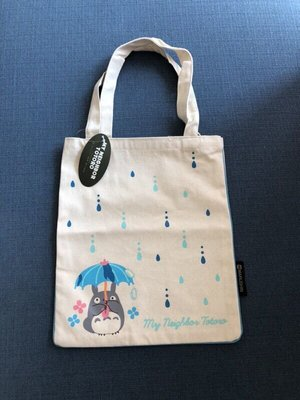 🇯🇵日本 Totoro 宮崎駿 龍貓 落雨 手挽袋 手挽包