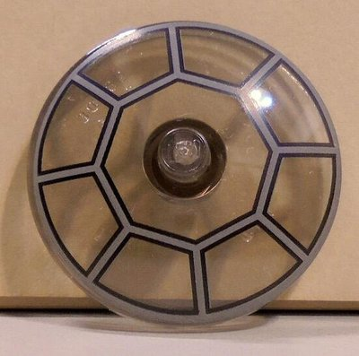 【LEGO樂高】黑色透明雷達圓盤 4x4 Inverted Radar