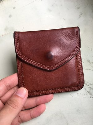 【Porter】Porter Lumber Tanned Leather 零錢包 咖啡棕 日PO 日本製