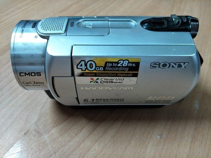 ☆手機寶藏點☆ SONY DCR-SR300 高畫質 硬碟式攝影機  DV 40GB 附電池 Che A7