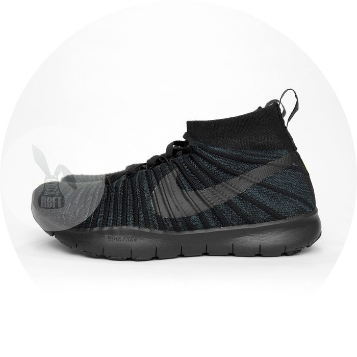 [RabbitFoot]NIKE FREE TR FORCE FLYKNIT PREMIUM 844461-001 全黑