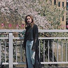 【預購】日本連線MOUSSY早秋2017新入荷LACE GOWN カーディガン神美刺繡蕾絲長罩衫長袖洋裝外套SLY
