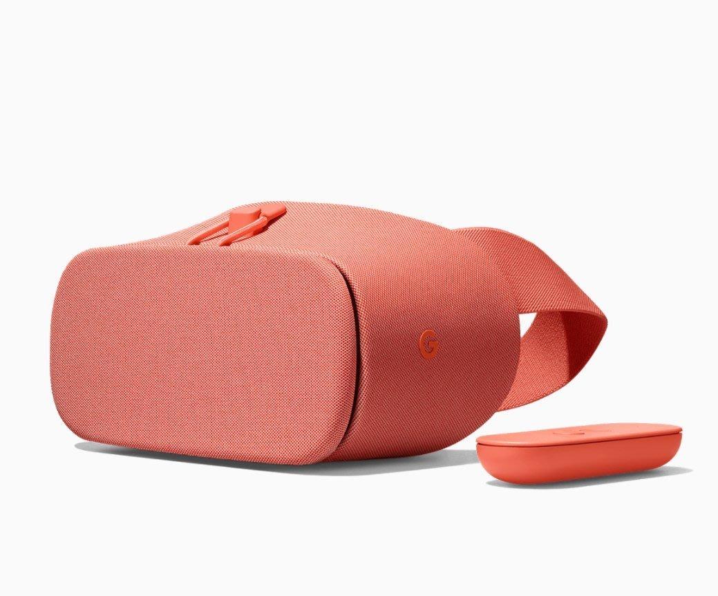 最新二代橘紅色※台北快貨※谷歌原廠最新 Google DayDream View 2 II VR虛擬實境眼鏡