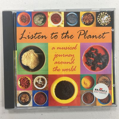 Listen To The Planet (A Musical Journey Around The World) CD