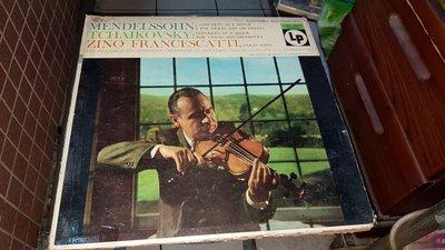 美國版黑膠唱片LP孟德爾頌:小提琴協奏曲