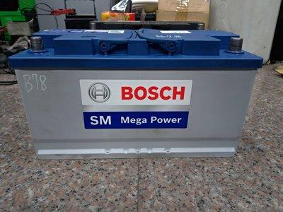 賓士 60044 MF BOSCH SM  60038 60011 12V 100AH BENZ BMW 汽車電池電瓶