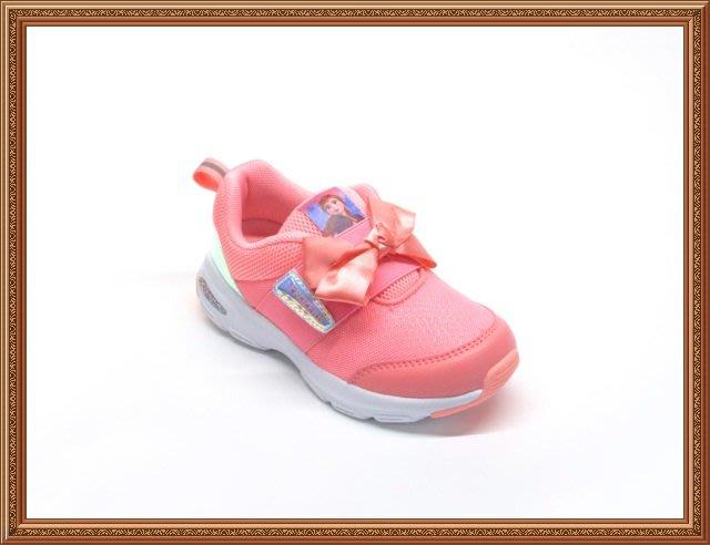 【94222】☆.╮莎拉公主❤冰雪奇緣 艾莎 安娜 甜美個性風武士鞋 運動鞋  慢跑鞋 童鞋16~21 CM