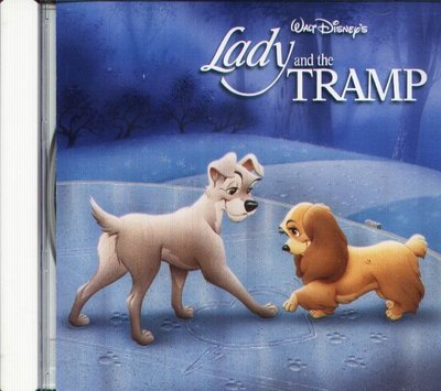 K - Disney Lady and the Tramp - 日版 CD Oliver Wallace Peggy