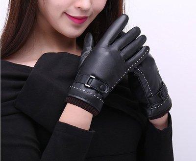 冬季 男女款 觸屏 皮手套 觸屏手套 騎士手套 防寒手套 保暖手套 情侶手套 手套 加絨 保暖防風防寒 情侶 開車 禮物