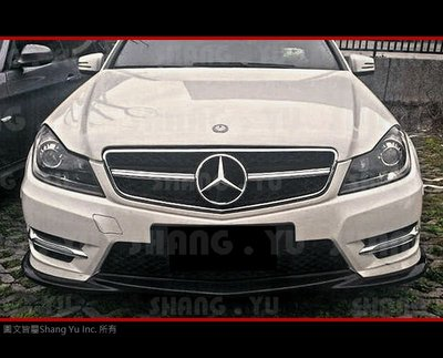 Benz C-Class W204 C63 AMG 款 水箱罩 07 08 09 10 11 12 13 14