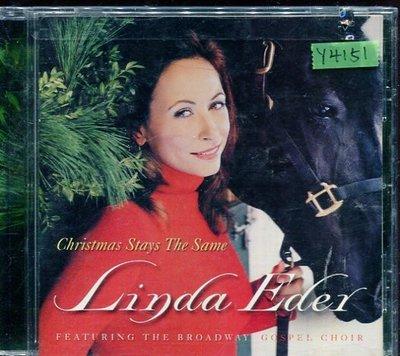 *還有唱片行* LINDA EDER / CHRISTMAS STAYS THE SAME 二手 Y4151