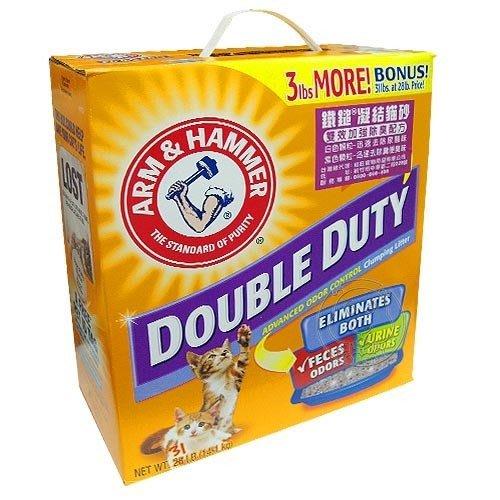 【🐱🐶培菓寵物48H出貨🐰🐹】鐵鎚牌《凝結貓砂》雙效加強除臭配方1kg 特價49元
