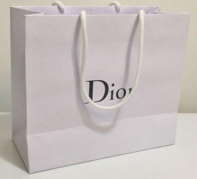 【 全新品 】Dior 紙手提袋 - 橫式  ( 小 )