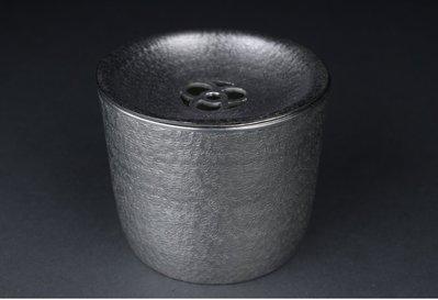 茶道具本錫製水方建水斗渣茶盅可以堂普洱...